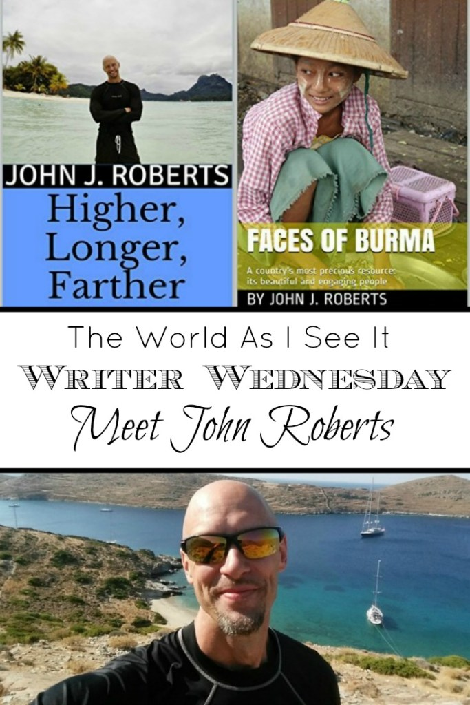Writer Wednesday - John Roberts