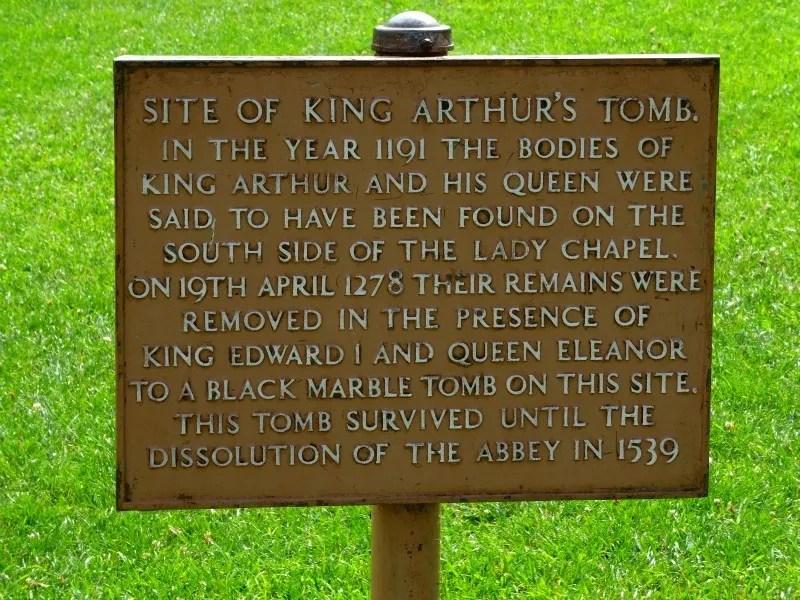 King Arthur grave