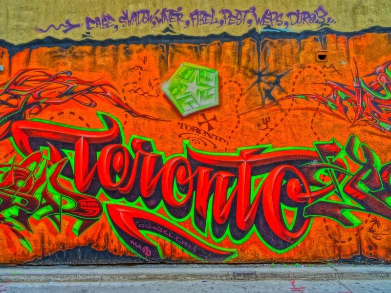 Toronto's Graffiti Alley