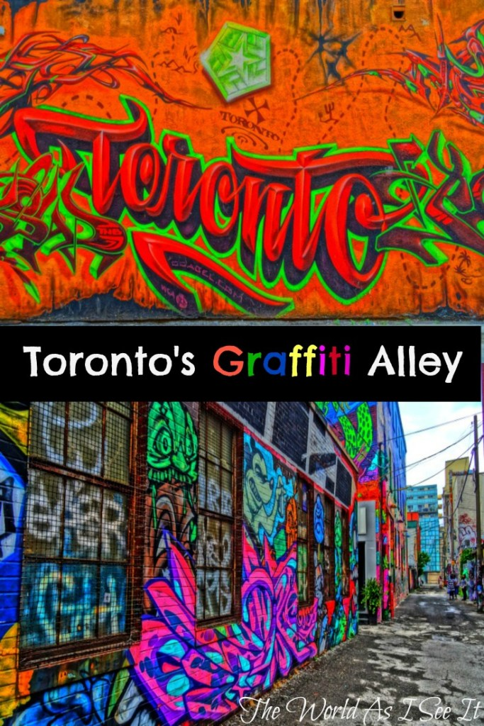Toronto's Graffiti Alley