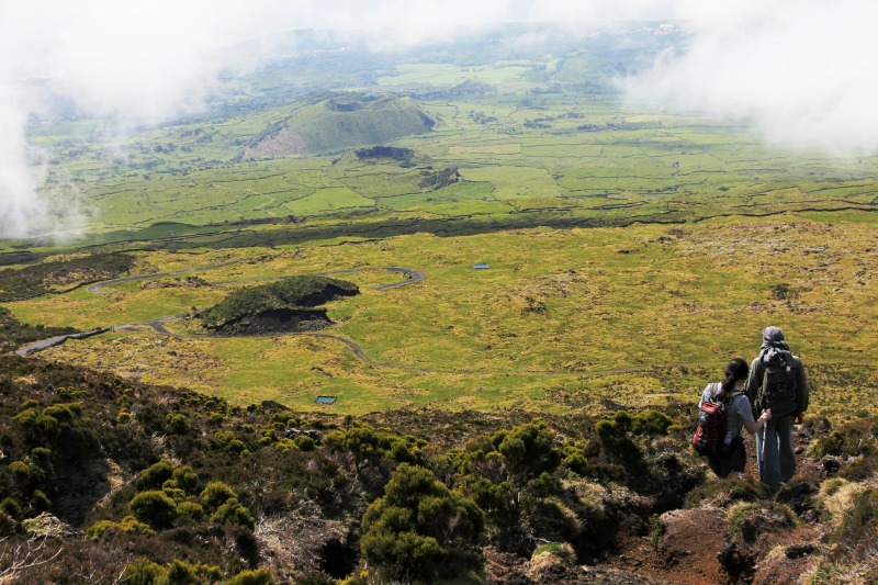 Hiking Mount Pico in the Azores