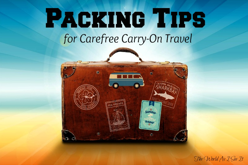 Packing Tips for Carry-On Travel