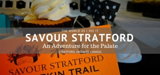 Savour Stratford - An Adventure for the Palate