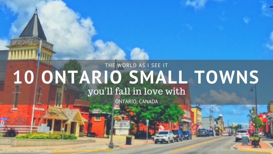 Ontario Small Towns
