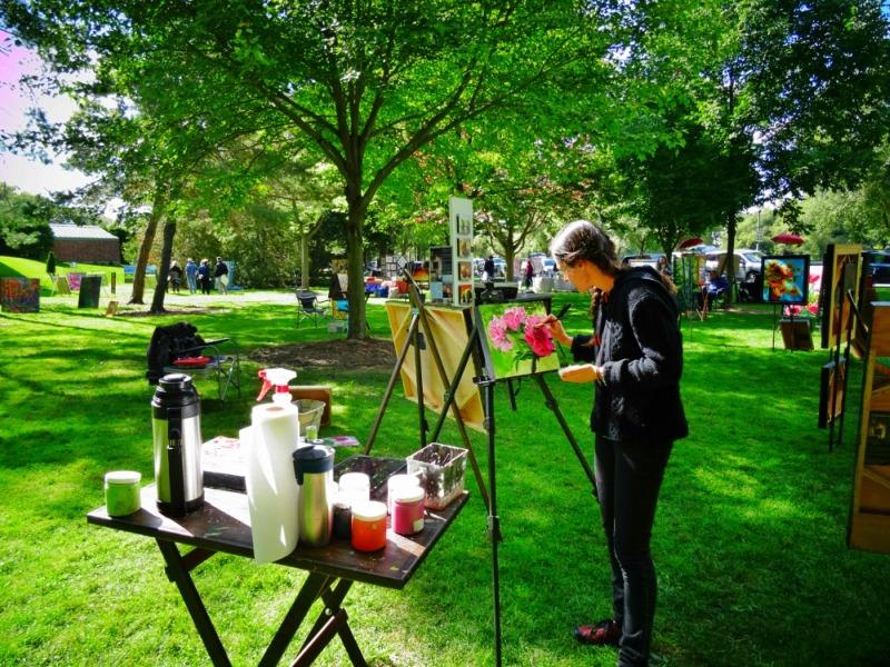 Art in the Park artist
