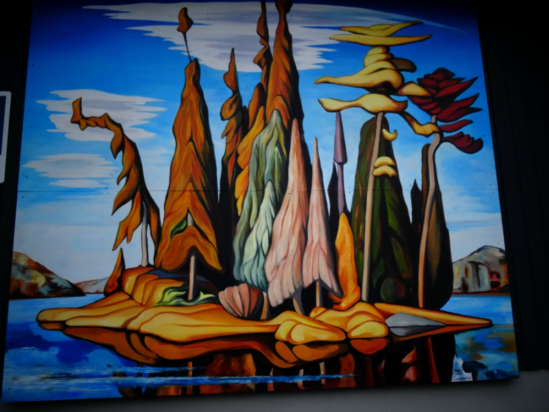 Northern Painting 25 originally by Lawren Harris