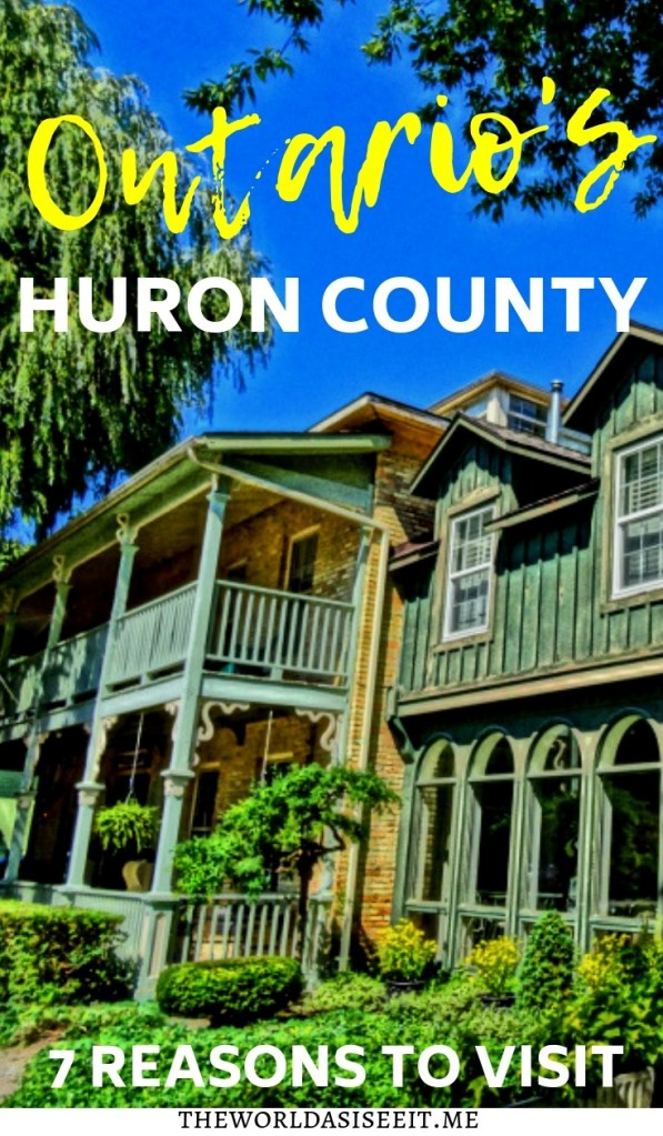 Ontario's Huron County is full of awesome things to do. From charming small towns to delicious food, and even some of Canada's cleanest beaches. Here are 7 reasons why YOU should visit.