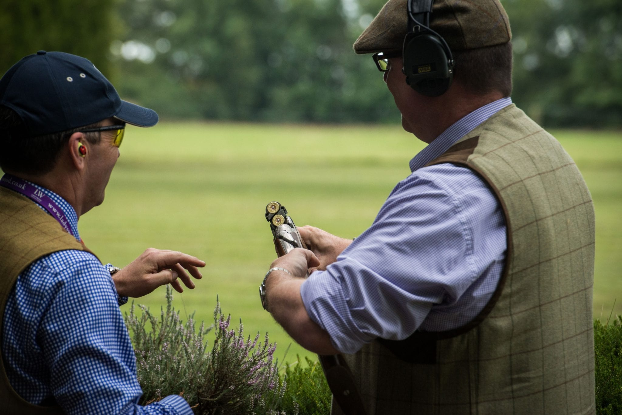 Father's Day Clay Pigeon Shooting