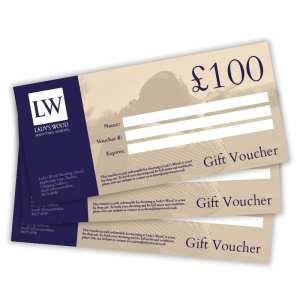 £100 clay shooting gift voucher redeemable at Lady's Wood Shooting School Bristol