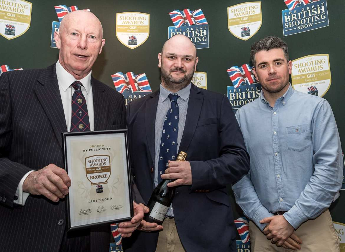 Lady's Wood win bronze at the 2019 Shooting Awards