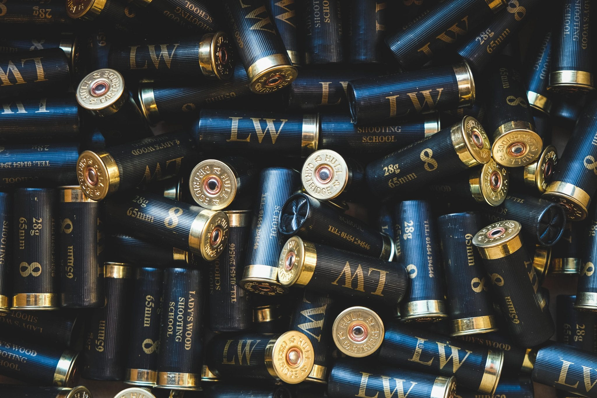 Permitted cartridges at Lady's Wood Shooting School