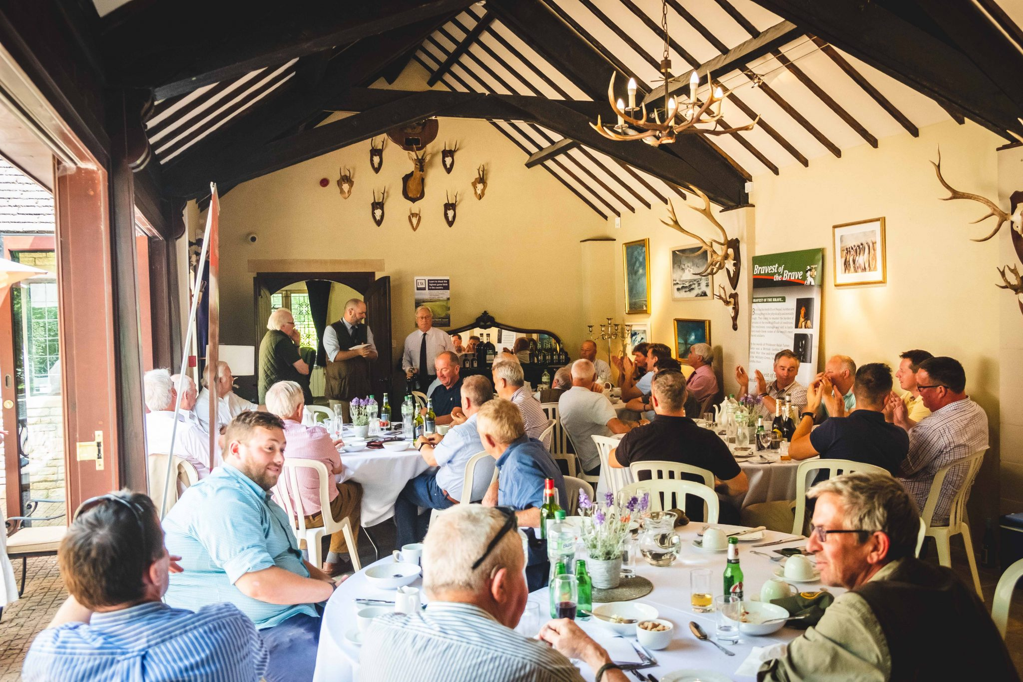 Charity events at Lady's Wood Shooting School