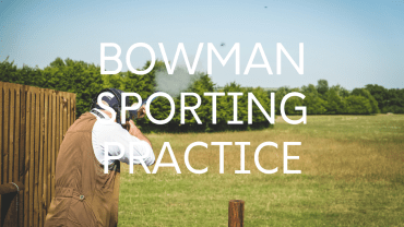 Bowman Sporting Practice Home page button