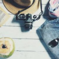 Surplice Wrap Ruffle Trim Botanical Print Jumpsuit