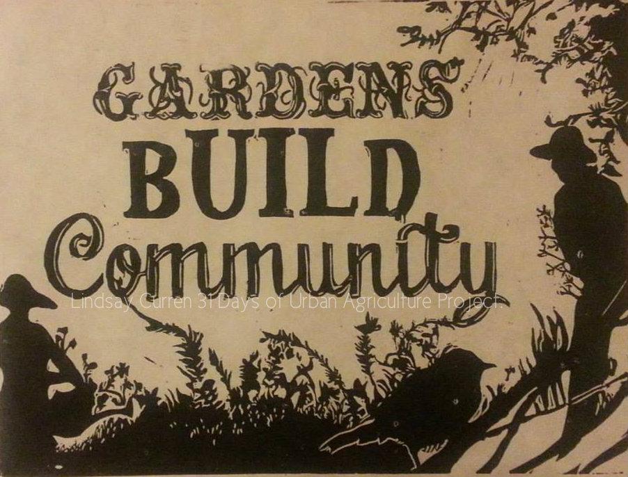 Gardens Build Community