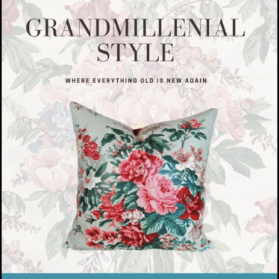 Free guide to grandmillennial style
