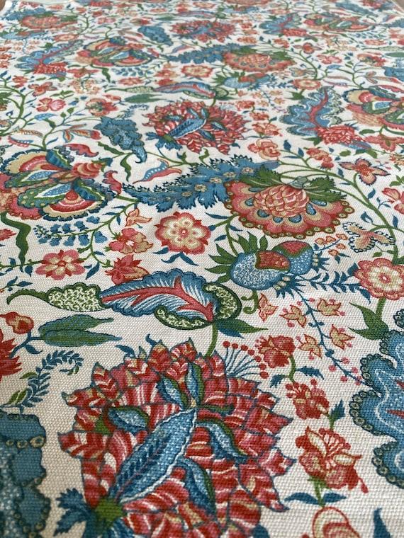 "Vintage 1953 Greeff ""Kandesh"" Fabric Sample"
