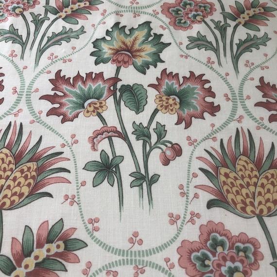 """Vintage Bassett McNab """"Janine"""" Fabric Sample"""
