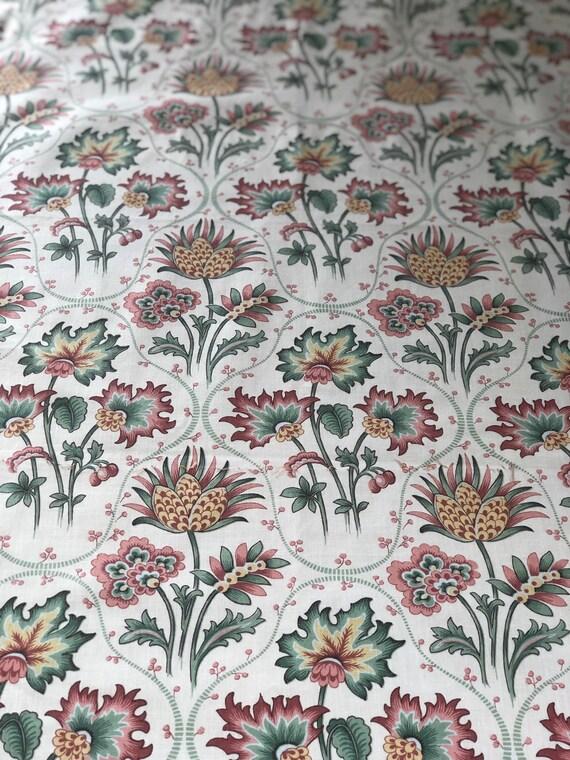 Vintage 1991 Bassett McNab Janine Fabric Sample
