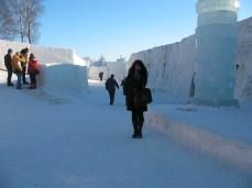Snow Castle in Kemi