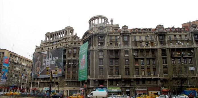Buildings in Bucharest