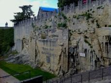 Wall in City of San Marino