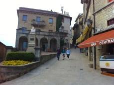 Streets in San Marino