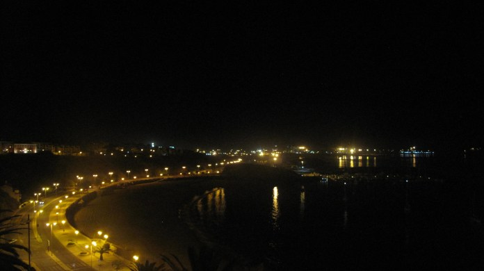 """View from """"pensione"""" in Sines"""