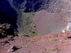 Crater of Vesuvius volcano.