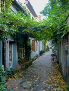Street in Schnoor Viertel quarter