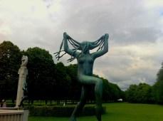 In Vigeland Sculpture Park