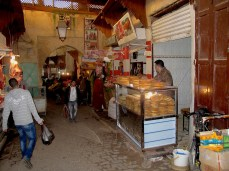 Street food in Medina of Fès