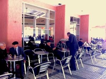Customers in tea salons - only men