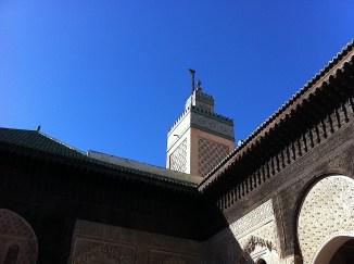 Minaret from Bou Inaniya medersa