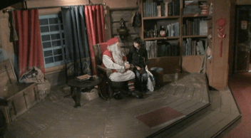 Me with Santa Claus in his office. Rovaniemi, Finland