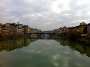 Views from Ponte alla Carraia bridge.