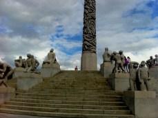 Vigeland sculpture park in Oslo