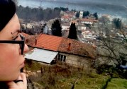 Me in the old part of Ohrid