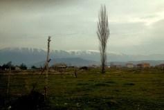 Albania. On the way to Pogradec