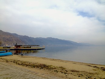 Pogradec: views of Lake Ohrid