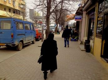 Locals in Pogradec