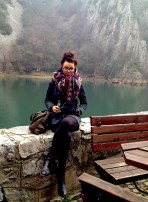 Me in Matka canyon