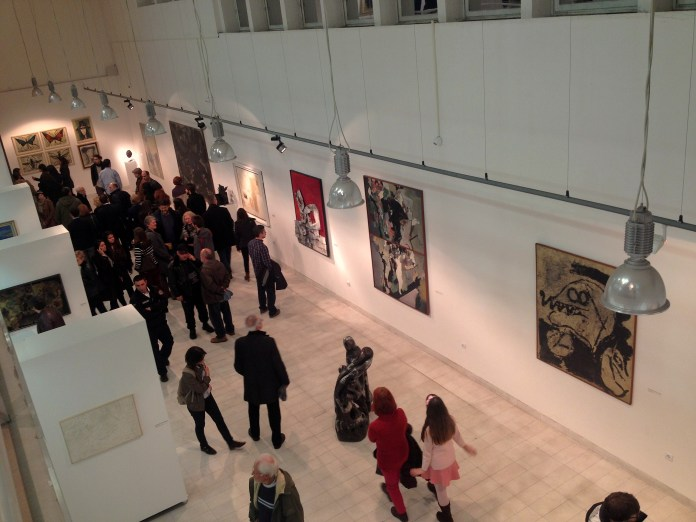 Opening of a new exhibition in the Contemporary art museum in Skopje