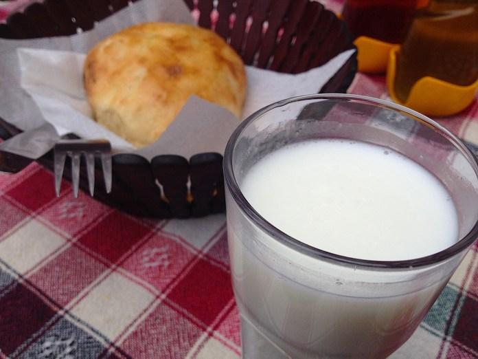 Salted yoghurt drink