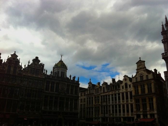 Sky over Brussels, Belgium
