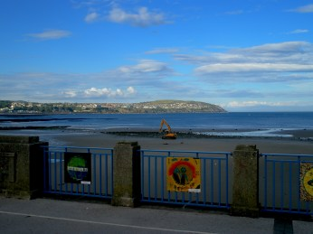 Sky over Douglas, Isle of Man