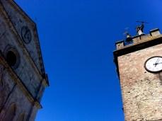 Sky over Montalcino, Tuscany, Italy