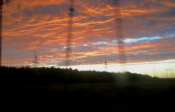 Sky over Kaunas, Lithuania