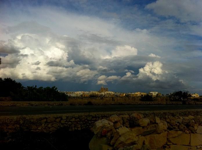 Sky over Malta