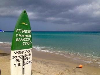 Walking by the sea in Kos